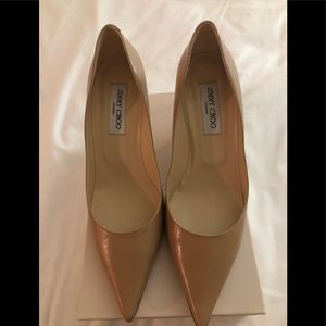 NIB Jimmy Choo Nude Pumps